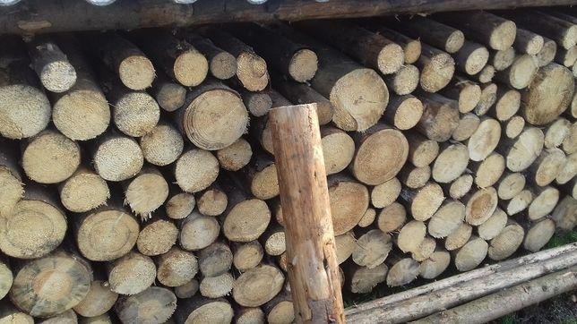 Drewno opałowe, belki, więźba dachowa