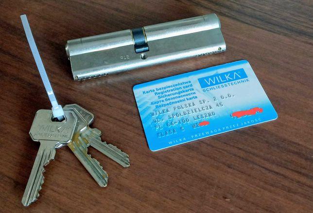 Wkładka patentowa Wilka klasa C 60/50, Drzwi, Klucz