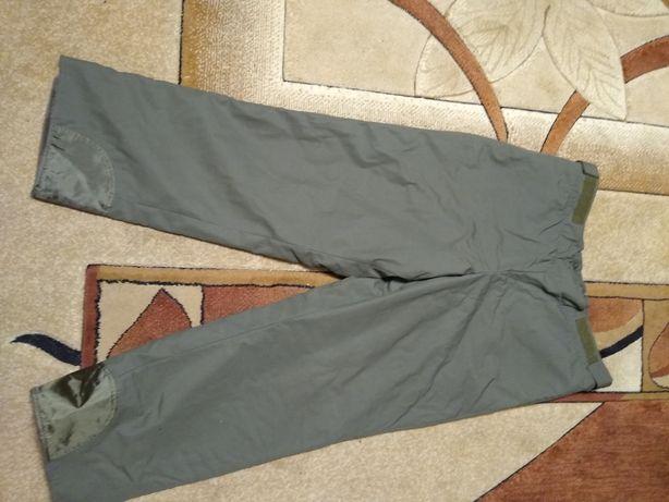spodnie moro wojskowe grube na futrzaku