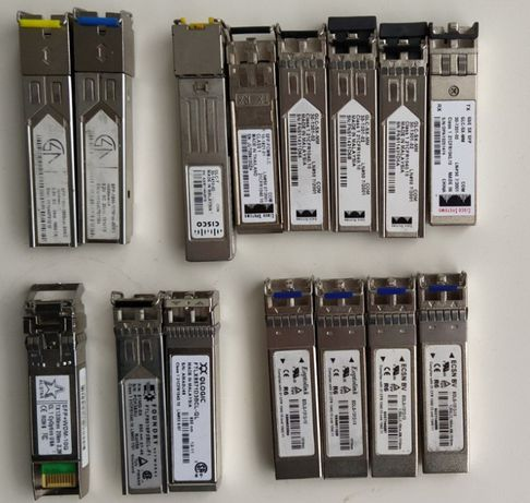 SFP модуль (трансивер) Qlogic, CISCO, ECSN, Eoptolink, ALISTAR