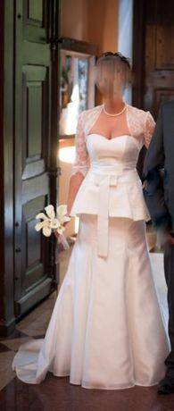 Suknia Ślubna k.Ivory ślub ślubna orginalna