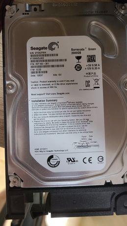 Жосткий диск 2 тб