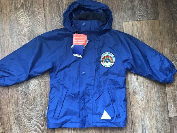 Новая куртка лучше Raima флисе фирменная 4-5 лет