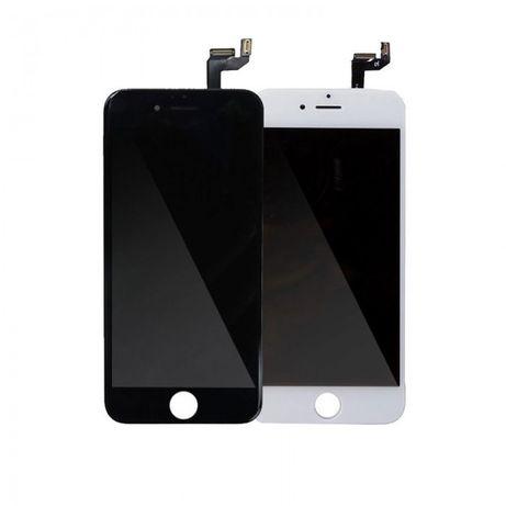 Ecra (LCD + Touch) para iPhone 6S Original - Branco e Preto