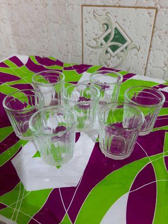 Рюмки,стаканы,цветные за вашу цену