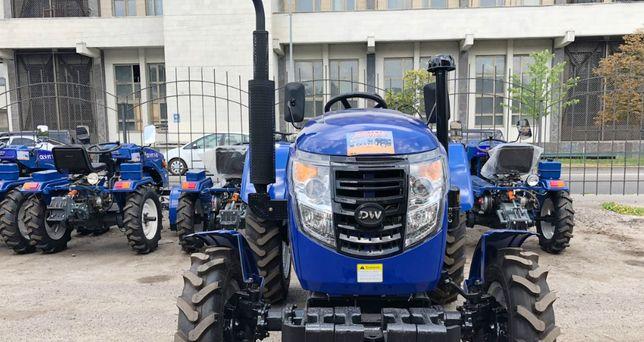 Мінітрактор ДВ 244 ATM 4x4, 24 к.с. трактор Доставка + Гарантія +ЗІП+