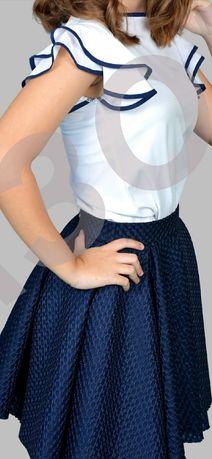 Школьная юбка Barbarris 146- 152 см 11- 12 лет