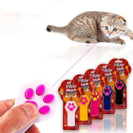 Лазерная указка для кота кошки светодиодная Paw Beam