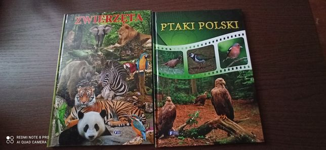 Książka ptaki Polski
