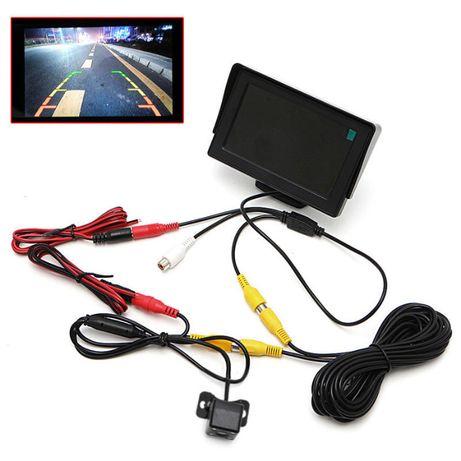 Sistema de video marcha atrás para carro Monitor 4.3 + camera