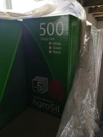 Folia rolnicza do sianokiszonki AGROSIL 500 750 Kiszonkarska Eco Agri