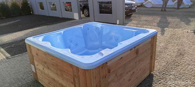 Całoroczne Jacuzzi SPA wanna basen balia ogrodowa tarasowa