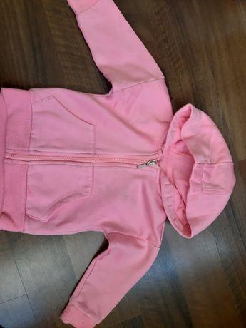 Neonowa różowa bluza na 12 m-cy
