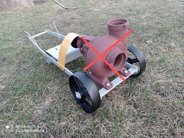 Wózek metalowy solidny