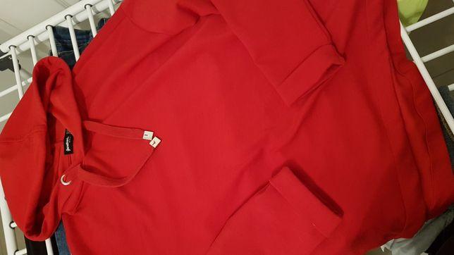 Bluza czerwona stradivarius