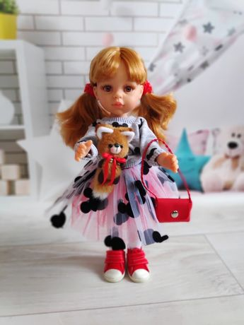 Кукла Даша Паола Рейна в костюме Микки, 32 см