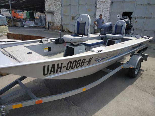 Алюминиевая лодка SPORTSMAN (TRACKER) 1610 G3 + Yamaha 50
