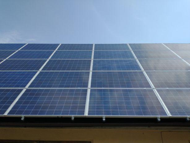 Panele fotowoltaiczne 245W, elektrownia słoneczna WYSYŁKA