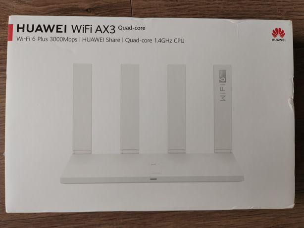 Router Huawei AX3 Quad-core. Wi-Fi 6 Plus NFC.