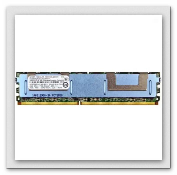 Серверная память 4Gb FBD 2RX4 PC2-5300F-555-11 DDR2-667 CL5 ROHS Киев - изображение 1