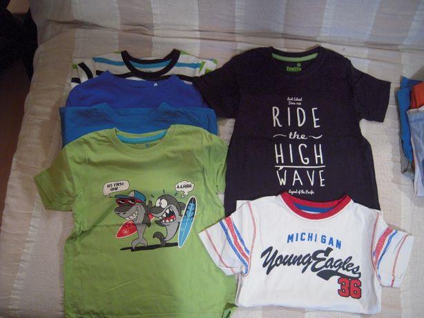 koszulki, bluzki 110-116