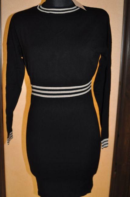 czarna dzianinowa sukienka Orsay r. S nowa z metką