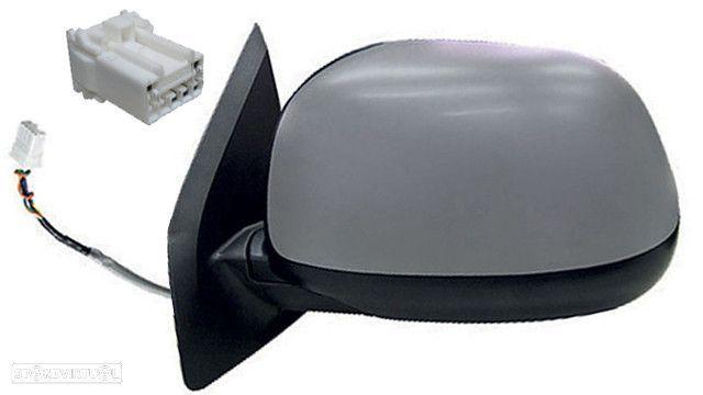 Espelho Esquerdo Electico P/ Pintar 3 Pinos Peugeot 4007 | 07-
