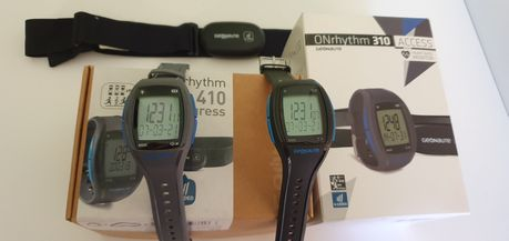 Zegarek pulsometr geonaute onrhythm 310 410 czujnik tętna
