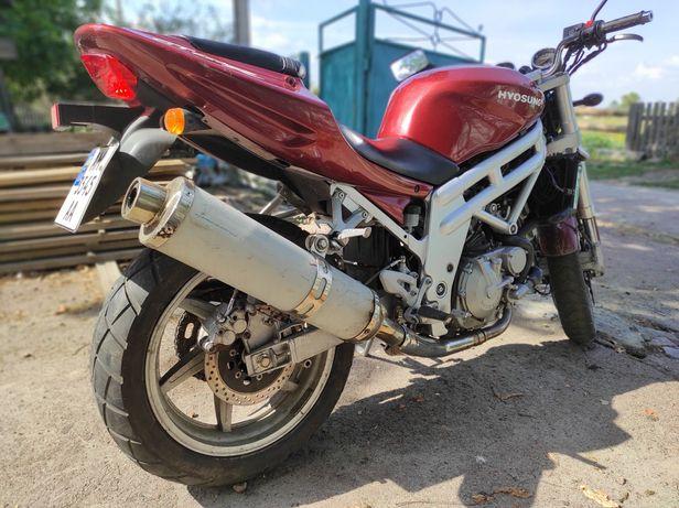 Продам мотоцикл Hyosung