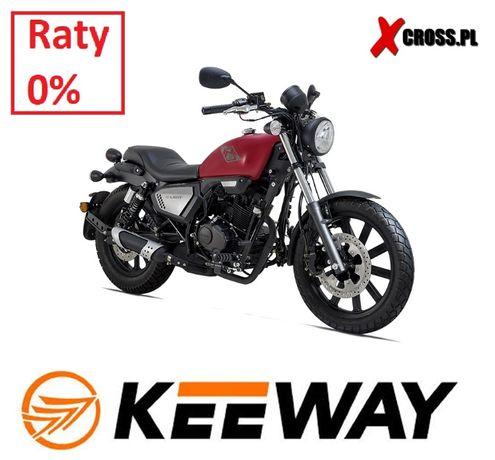 Chopper Motocykl Keeway Superlight 125 K-Light Raty 0% Dostawa