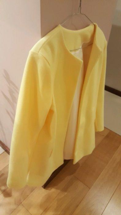 Płaszcz żółty, narzutka płaszczyk Pszczyna - image 1