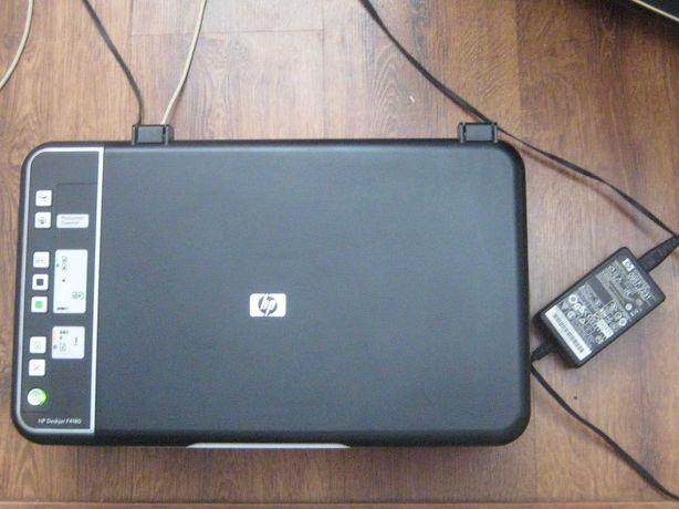 принтер HP DESKJET F4180 в полурабочем состоянии