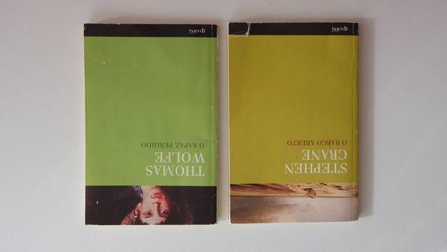 """Livros """"O rapaz perdido"""" e o """"Barco aberto"""""""