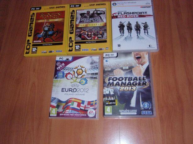 1€cada jogo para computador ou 5€ todos