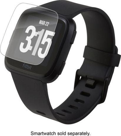 Pelicula Vidro temperado Smartwatch para Realme, Fitbit S Pro, Fitbit Versa, Versa Lite