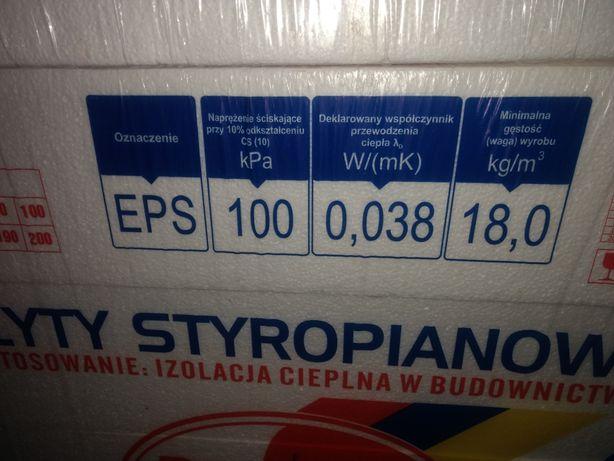 Styropian eps 100  twardy 15 cm