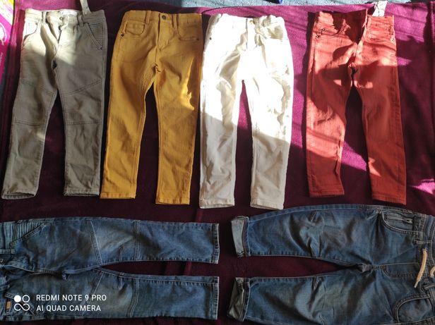Spodnie Zara rozm.110