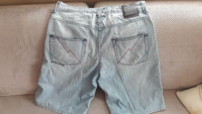 Spodenki krótkie jeansowe MASS