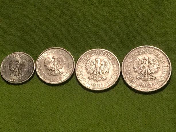 Zestaw monet PRL 1967 r
