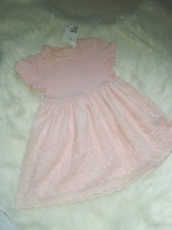 Nowa sukienka h&m jak newbie rozmiar 80