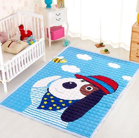 Ковёр в детскую комнату, Большой детский игровой коврик,матрас игровой