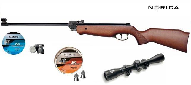 Wiatrówka NORIKA Shooter 4,5 16J