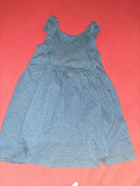 Sukienka letnia primark 3-4 lata 104cm z falbana