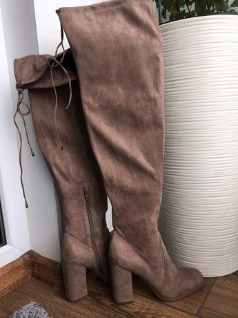 Ботфорти/чоботи жіночі/Сапоги женские/ботинки женские/ботфорты/