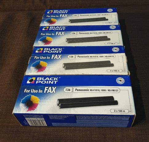 Folia do Faksu Panasonic KX-F1010 - 4 szt.