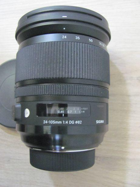 Pełnoklatkowy obiektyw Sigma ART 24-105/4 A DG OS HSM NIKON