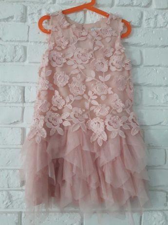 Cudna sukienka łososiowa Mayoral