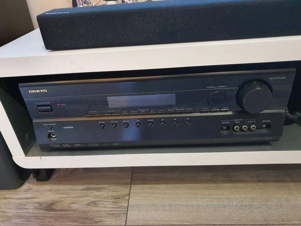 Kino domowe Onkyo, amplituner SR-307, głośniki M-Audio