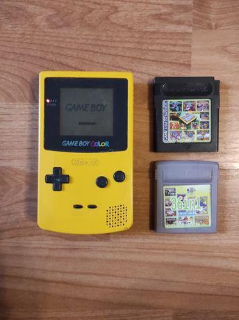 Gameboy color c/jogos