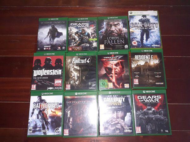 Jogos Xbox One e Xbox360